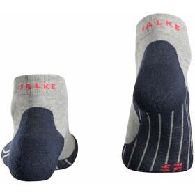 Falke RU4 Calcetines cortos running Mujer, light grey